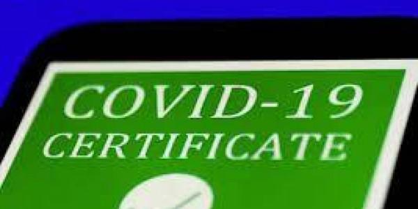 Covid-19 certificate